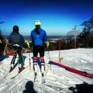 Training at Blue Hills
